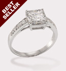 Princess Penny CZ Ring