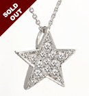 Brilliant Star CZ Pendant